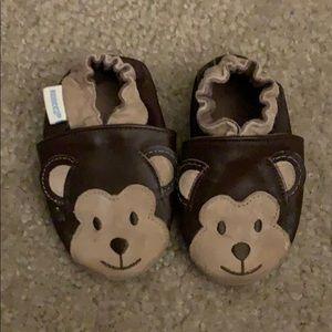 Robeez Monkeys Moccasin